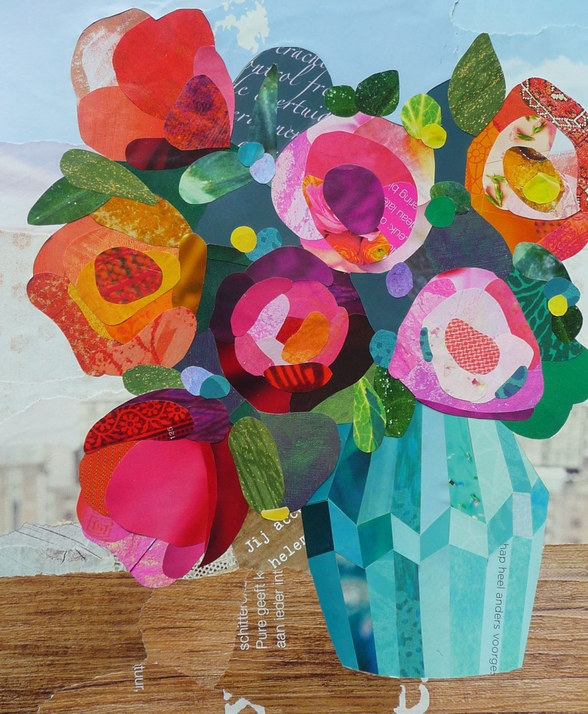 Bloemen collage