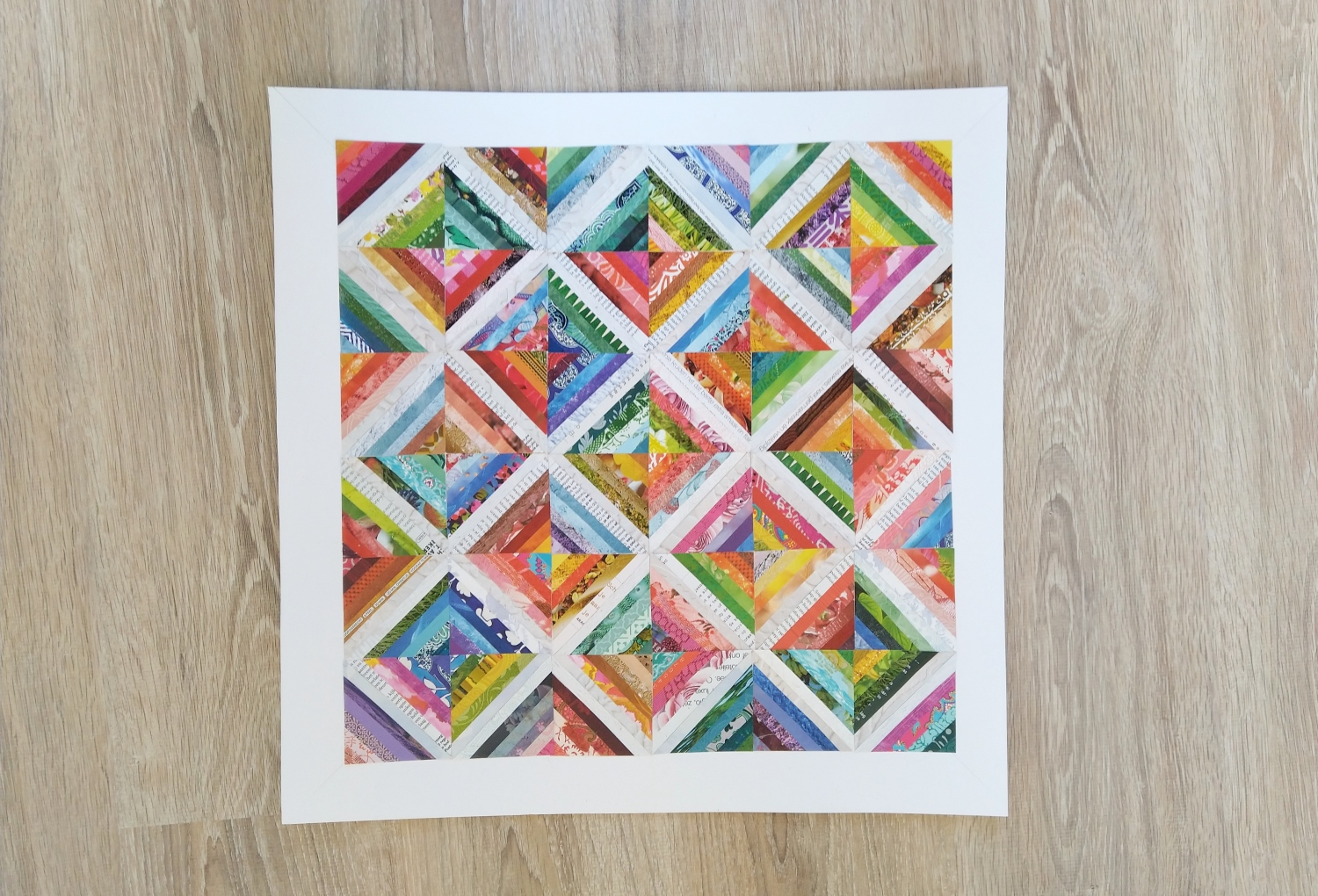 DIY papiercollage